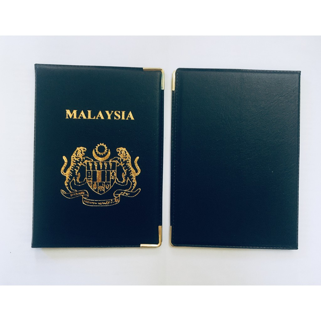 Malaysia Passport Cover With Inner Pocket International Passport Cover Suitable For All Country Passport Measurement