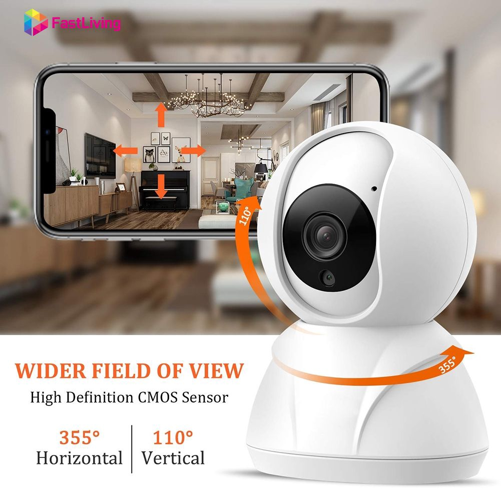 2X Wireless IP Camera 720P Security Network CCTV Night IR Vision WIFI Webcam EG