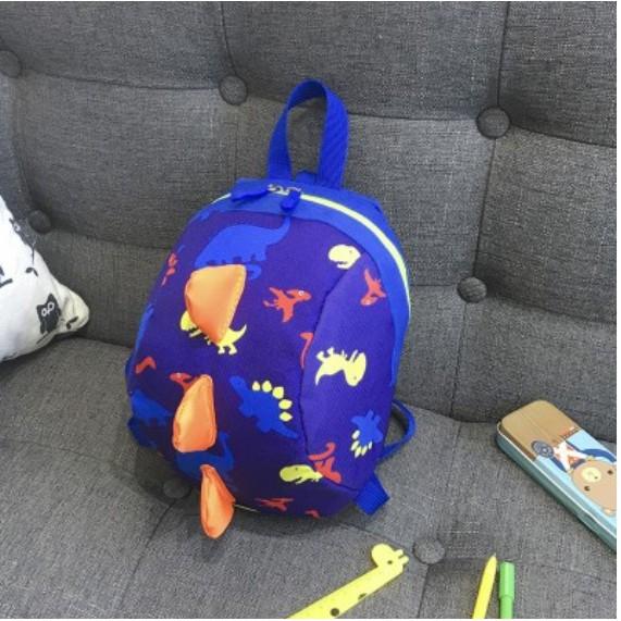 พร้อมส่ง! เป้จูงกันหลง เป้จูงเด็ก กระเป๋าจูงเด็ก ลายไดโนเสาร์ ถอดสายออกได้และปรับได้ สำหรับเด็ก1-3 ปี มี2สี จุของได