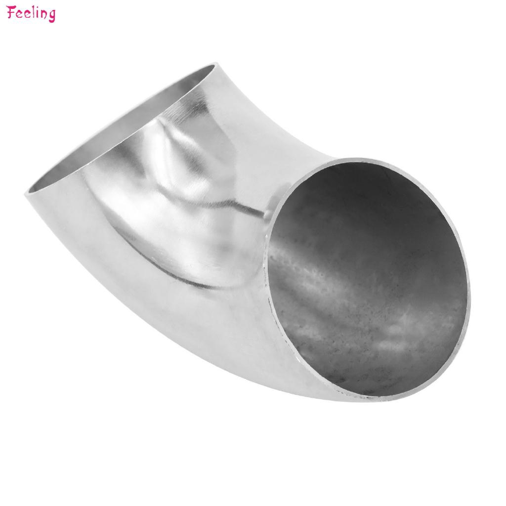 """Car Exhaust 63mm //2.5/"""" Inch Elbow 90° Pipe Tube Bend Mandrel 304 Stainless Steel"""