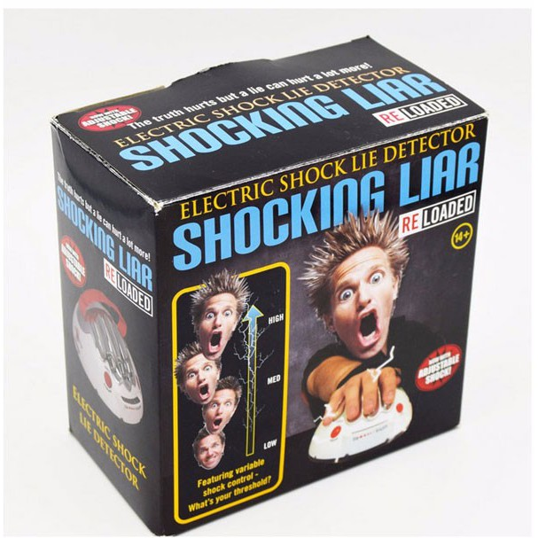 Toys & Hobbies Gags & Practical Jokes Intelligent Tricky Funny Adjustab Electric Shock Lie Detector Party Joke Polygraph Adults Testing Game Toy Novelty Interesting Playing Gift