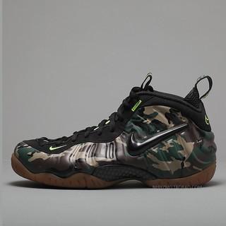 hot sale online 0145d 398c4 Siccs Original Nike Air Foamposite Pro camo Army Green ...