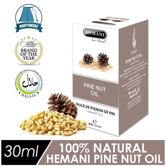 💯% Pure Cold-pressed Hemani Pine Nut Oil | Minyak Kacang Pine [READY  STOCK✔️]