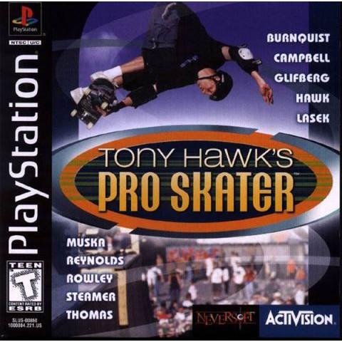 PS1 Game Tony Hawk Pro Skater, Sport Game, English version / PlayStation 1