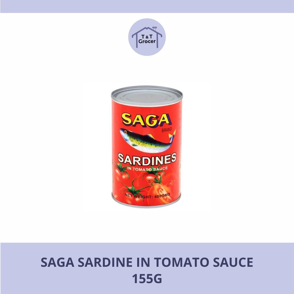 Saga Sardines in Tomato Sauce (155g)