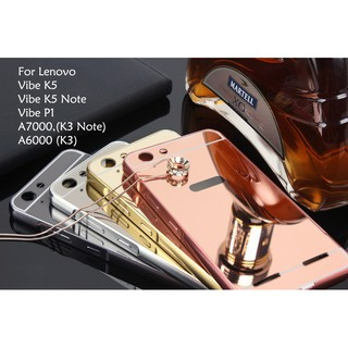size 40 4a1bc c6a16 Lenovo Vibe K5 P1 A6000 Plus Mirror Case Cover Casing Housing ...