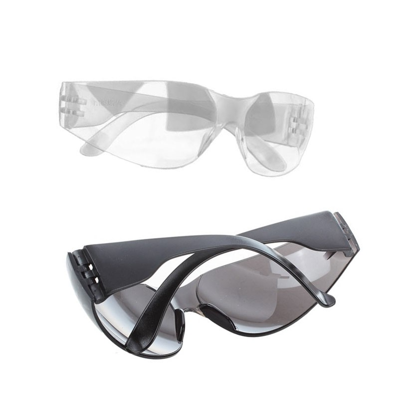 X 3 Pairs Overspecs Safety Glasses Over Spectacles Work Specs Clear