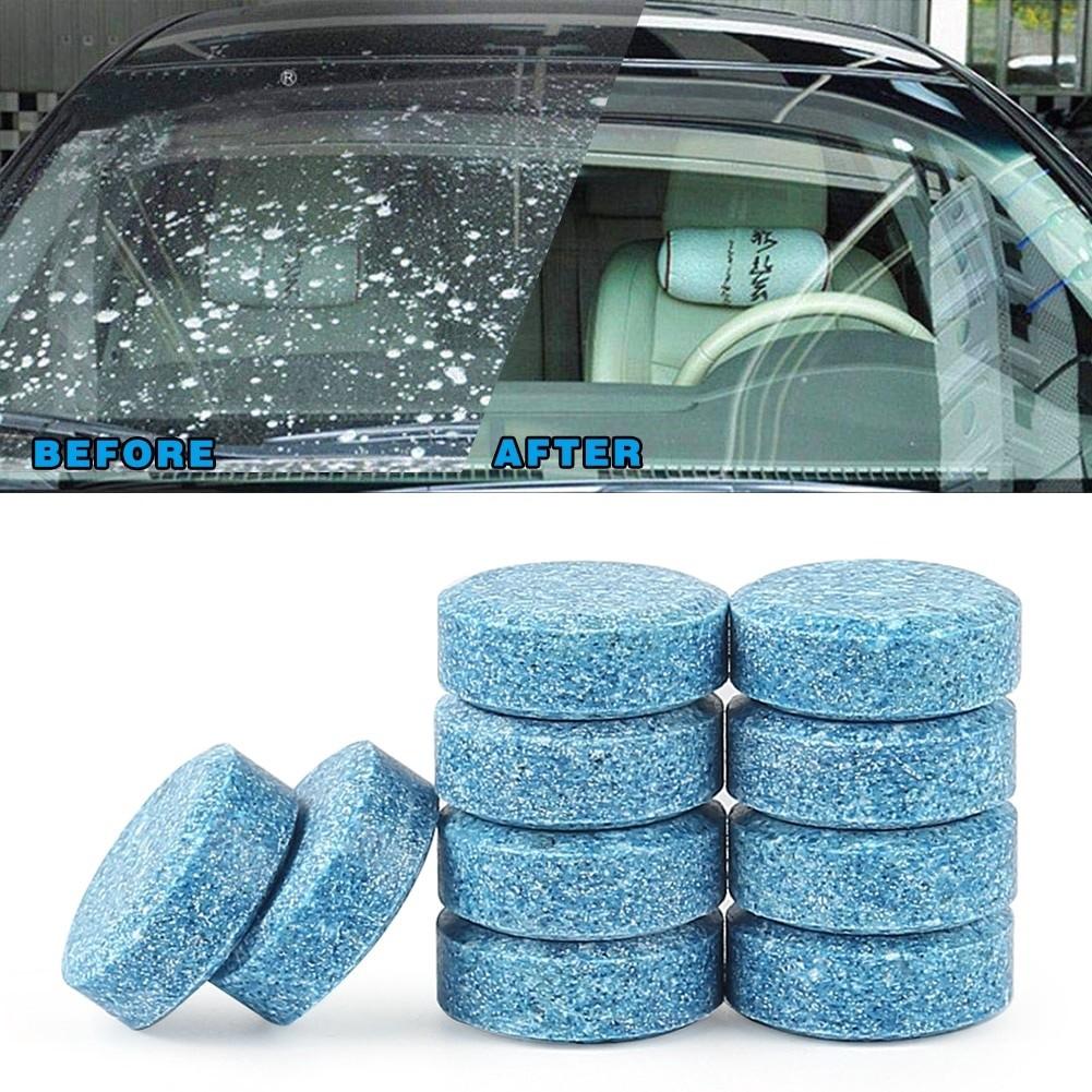 1PC/1Biji Car Windshield Cleaner Glass Car Solid Wiper Window Cleaning 2Gram