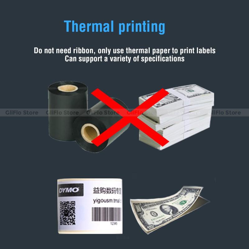 DYMO LW450 Turbo thermal label machine adhesive tape label