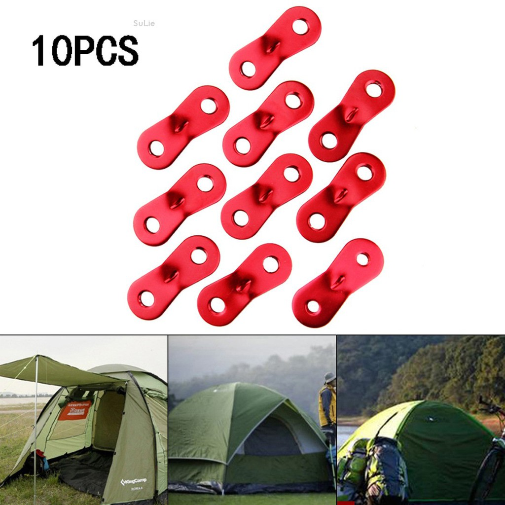Nylon Plastic Cord Adjuster Tent Tensioners Rope Adjuster For Tent Hiking