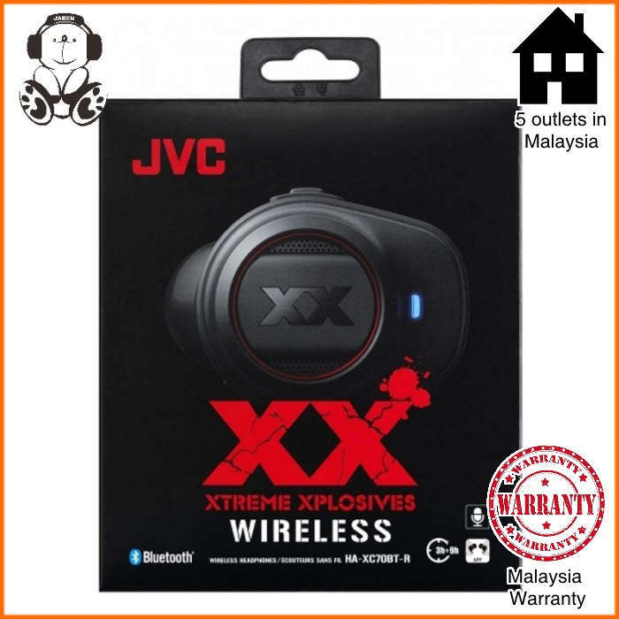 JVC HA-XC70BT XX Xtreme Xplosive TWS True Wireless Earphones
