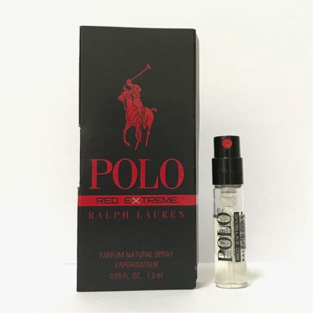 a3038b099b RALPH LAUREN POLO RED EXTREME PARFUM 1.5ml ORIGINAL Perfume vial | Shopee  Malaysia