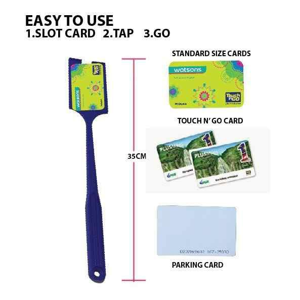 2pcs Touch N Go Stick Extender Touch 'n Go Stick Toll Card Stick