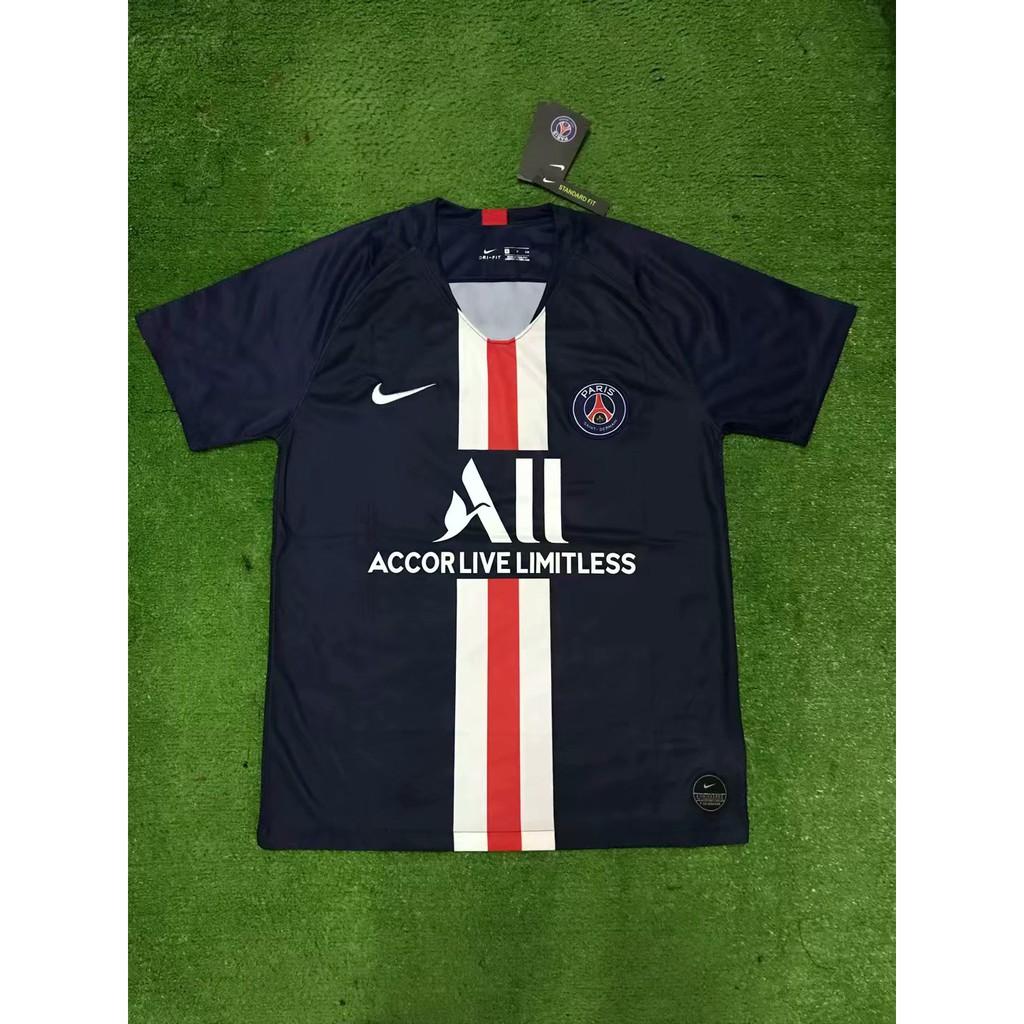 check out 3c68f 7b1fd NEYMAR JR 2019 2020 PSG maillot MBAPPE soccer jersey Paris Saint-Germain  Home Stadium Shirt 2019-20