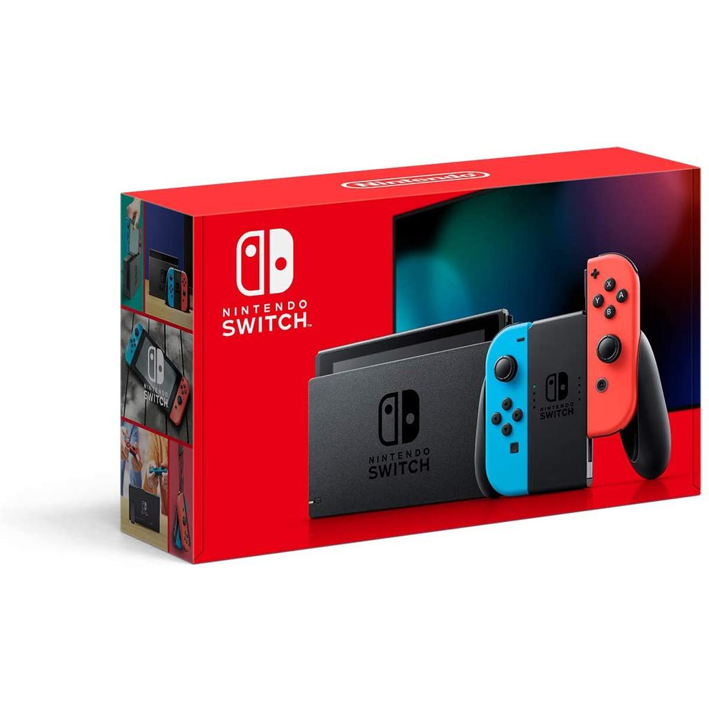 Nintendo Switch Neon Enhanced Edition+ TRAVELER BAG +TEMPERED GLASS+ + (1YEAR WARRANTY)MAXSOFT VERSION 2