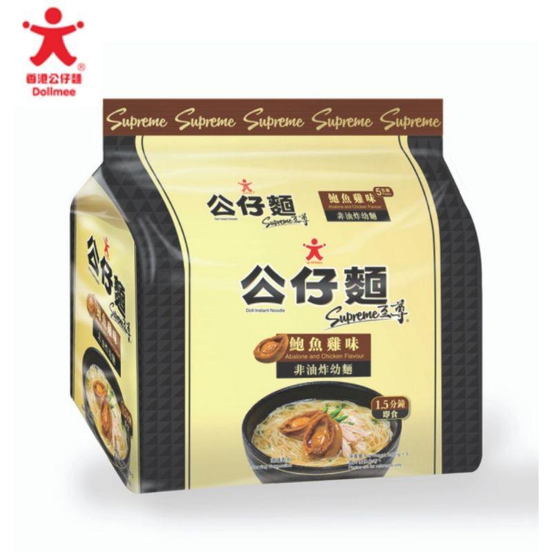 公仔面 Gong Zai Dollmee Noodles 5 Flavour