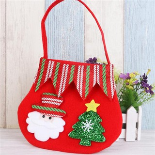Christmas Gift Bags For Kids.Christmas Gift Bag Candy Pocket Home Store Decor Kids Baby Xmas Accessories