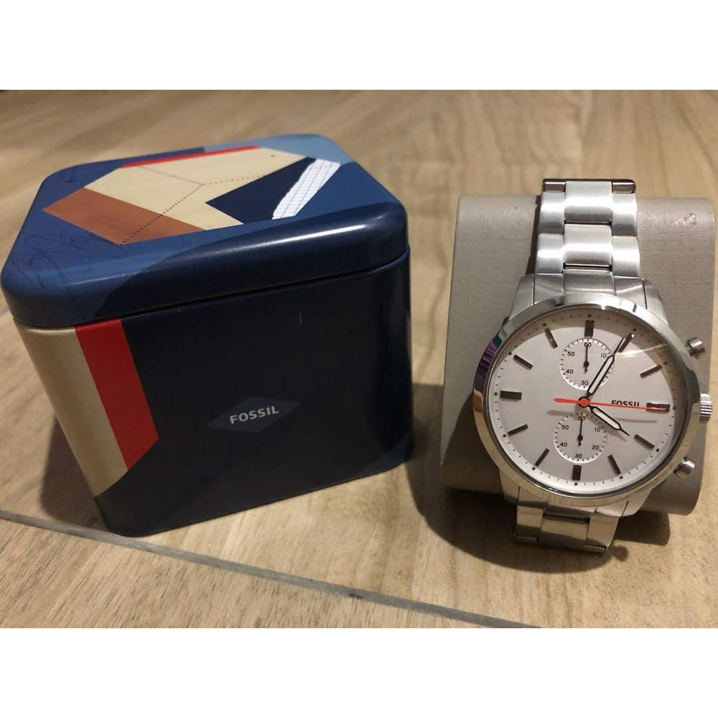 Fossil Chronograph Mens Watches Online Shopping Sales And Jr1527 Nate 50mm Black Dial Two Tone Stainless Promotions Nov 2018 Shopee Malaysia