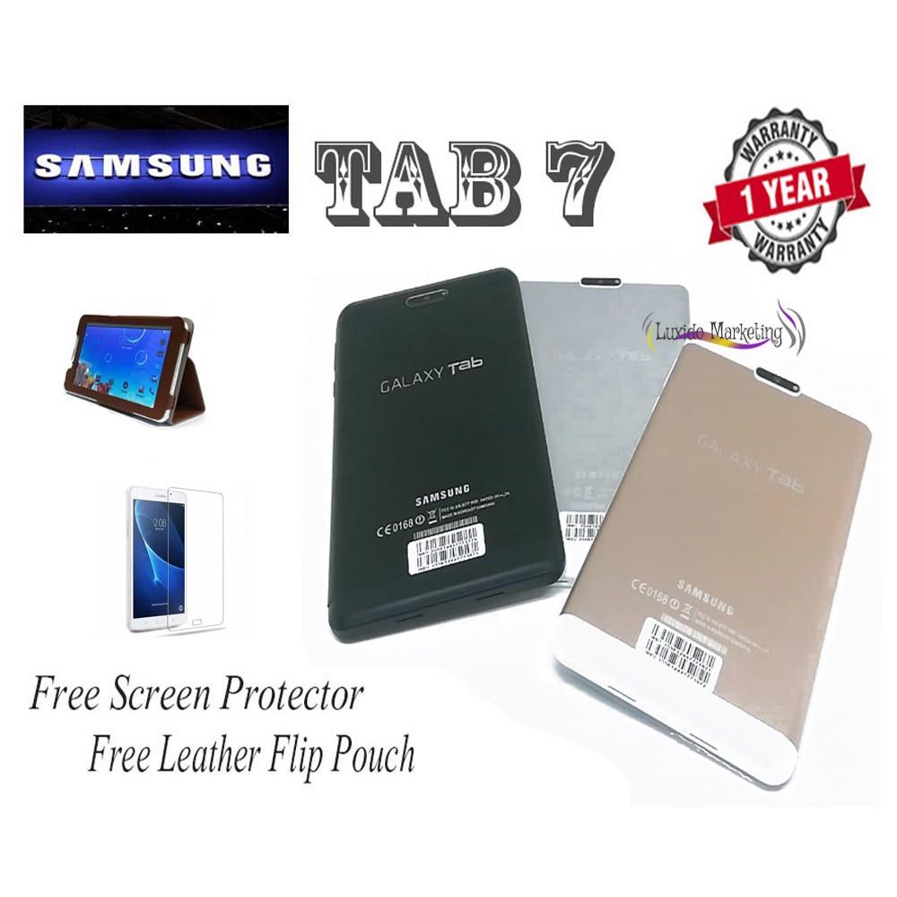 NEW Promotion !! SamSung Tab 7 Mini Tablet ( 2GB RAM / 16GB ROM ) Ready  Stock !