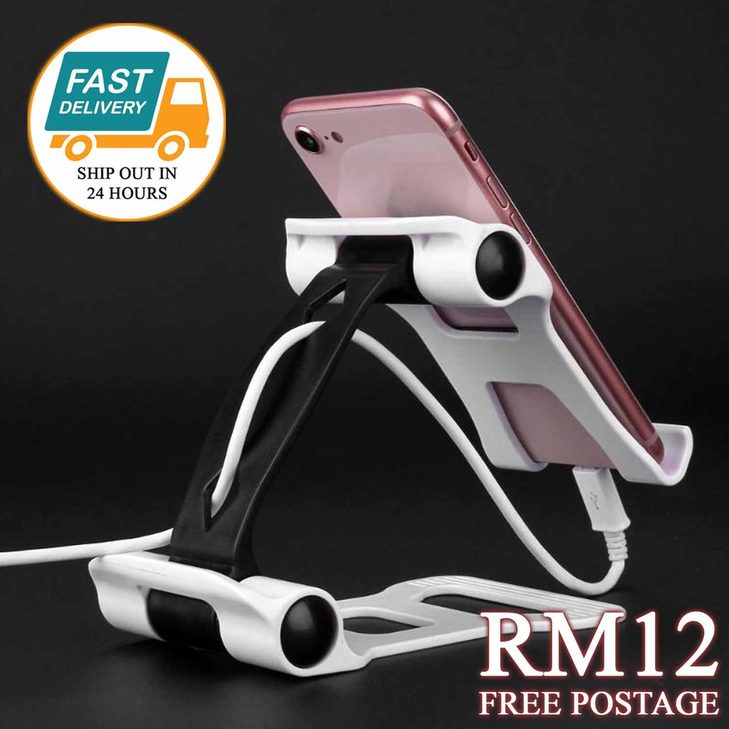 Universal Folding Desktop Phone Holder Tablet Stand Bracket For Iphone/Ipad/Tab