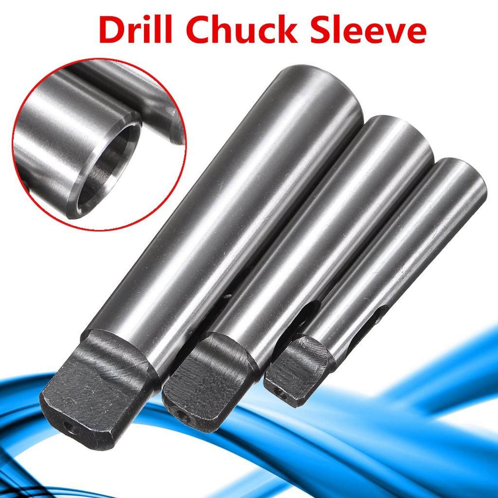 3pcs Drill Chuck Sleeve MT1-MT2 MT-2-MT3 MT3-MT4 Morse Taper Adapter