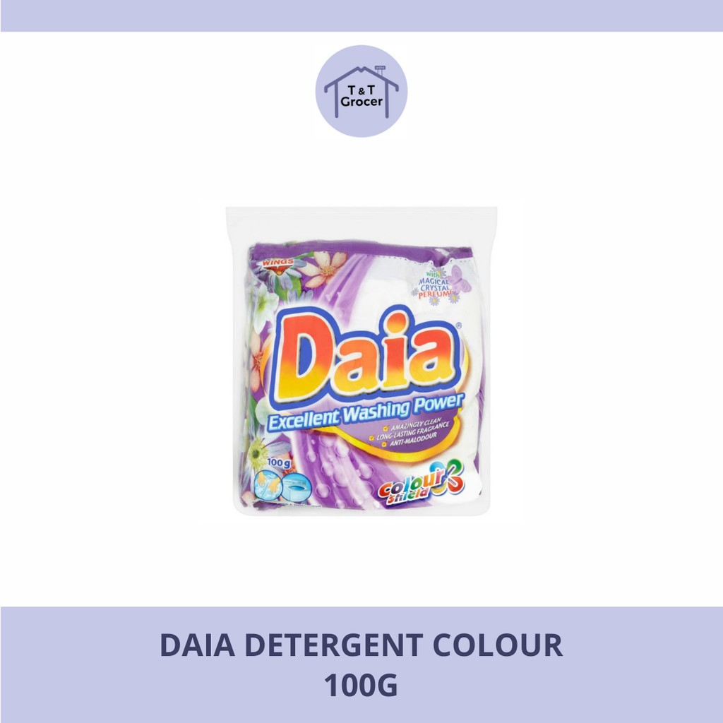 Daia Detergent 100g (Colour/ Floral/ Lemon)