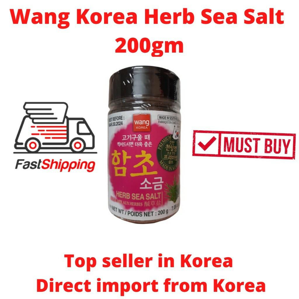 Korea Herb Sea Salt 200g Wang Korea