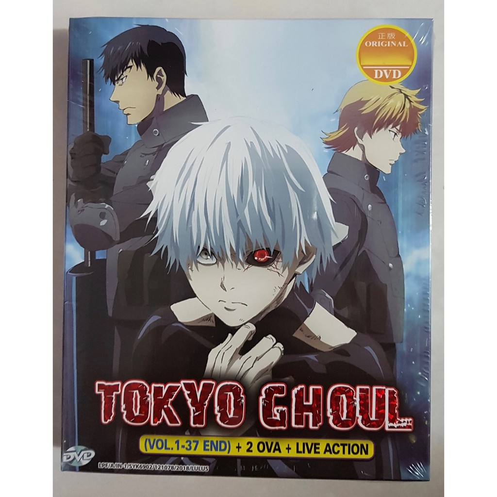 Anime DVD Tokyo Ghoul Complete Set | Shopee Malaysia