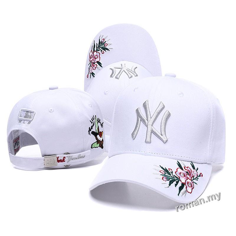 New York SnapBack Navy Blue  Leopard Baseball Hat Quality  Ladies