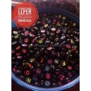 ALPHABET BEADS LEPER COLORFUL   Shopee Malaysia