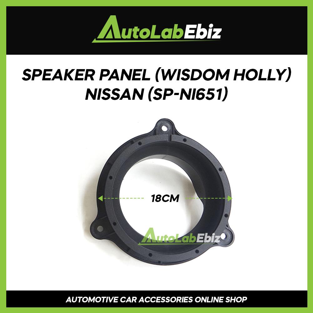 Wisdom Holy Car Door Speaker Panel Cover Trim Car (2pcs) For Nissan