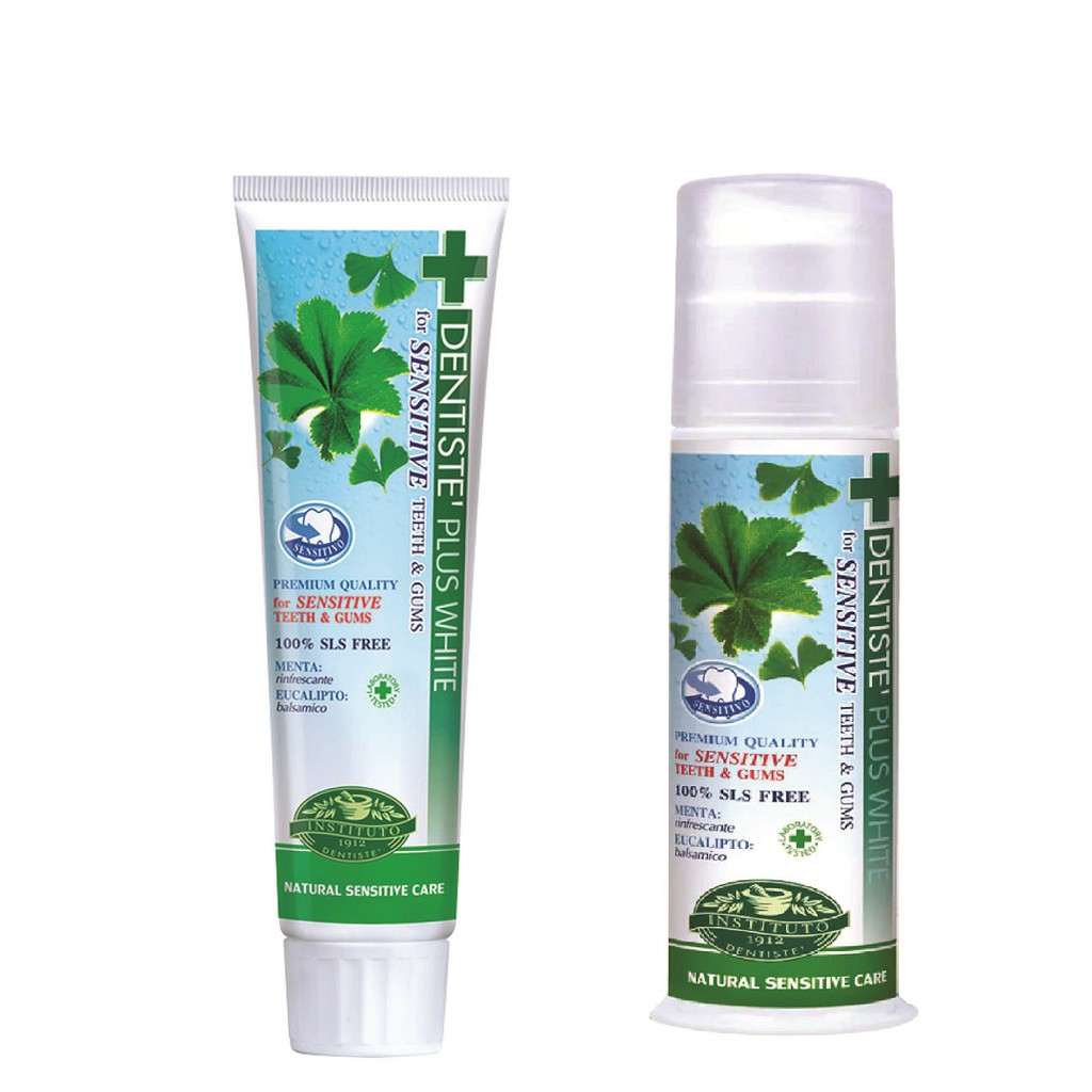 DENTISTE Plus White Nightime Sensitive Toothpaste Tube/Pump ( HALAL)