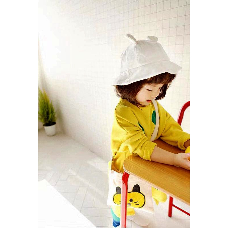 b15548cf ProductImage. ProductImage. Cotton Pad Cap Child Cute Ear Sun Hat ...