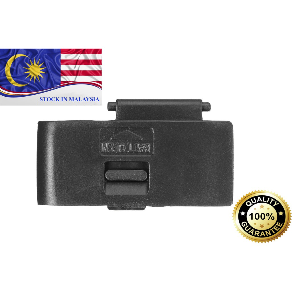 Battery Door Lid Cover Cap For Canon EOS 550D 600D 650D (Ready Stock In Malaysia)