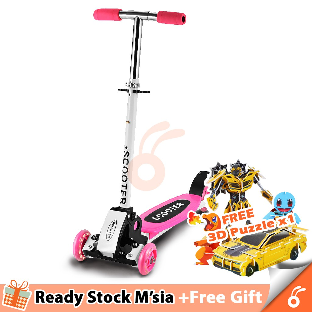 6026 Felix Formiko Fold-able Four 4 Wheels Kids Scooter