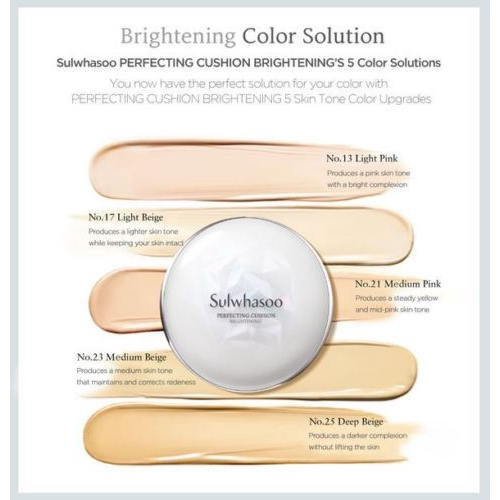 Sulwhasoo Perfecting Cushion Brightening 15g*2s