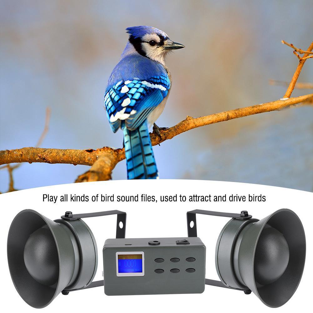 50W 150db Speaker Decoy Predator Caller Bird Sound MP3 Player 200