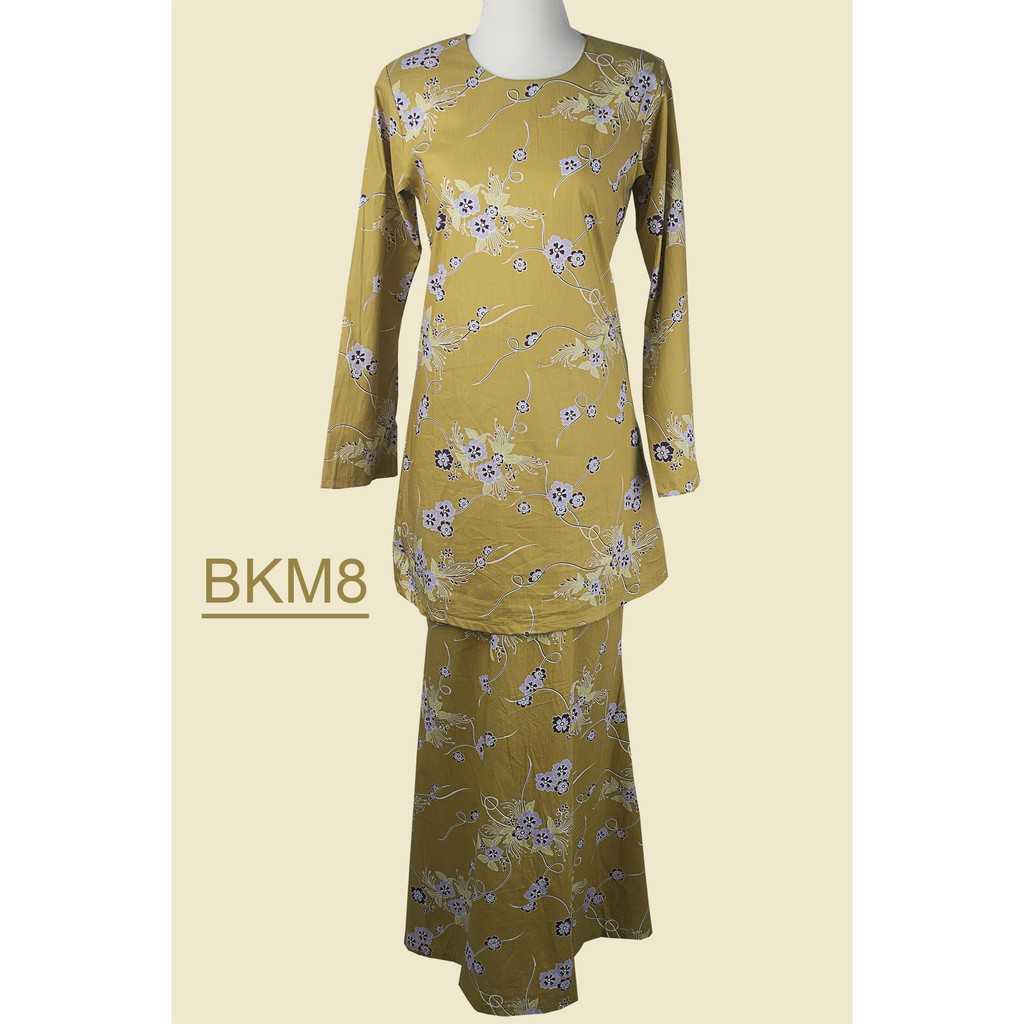Baju Kurung Moden Cotton BKM8