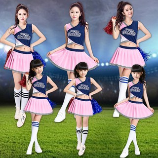 94615141 Children's cheerleading dance costumes student group aerobics dance  performance