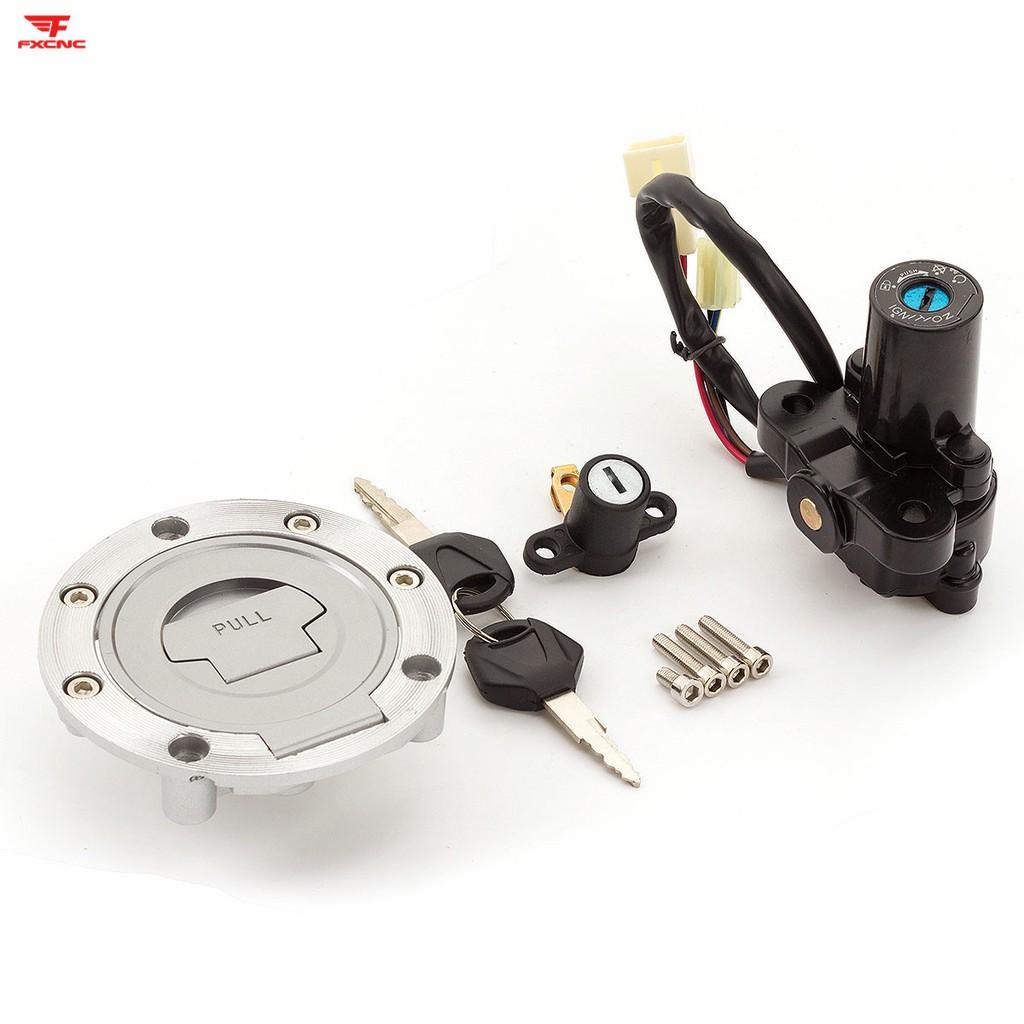 US Ship Ignition Switch Lock w//Key For Yamaha FZ09 MT09 2014-2016 YZF R1 02-03