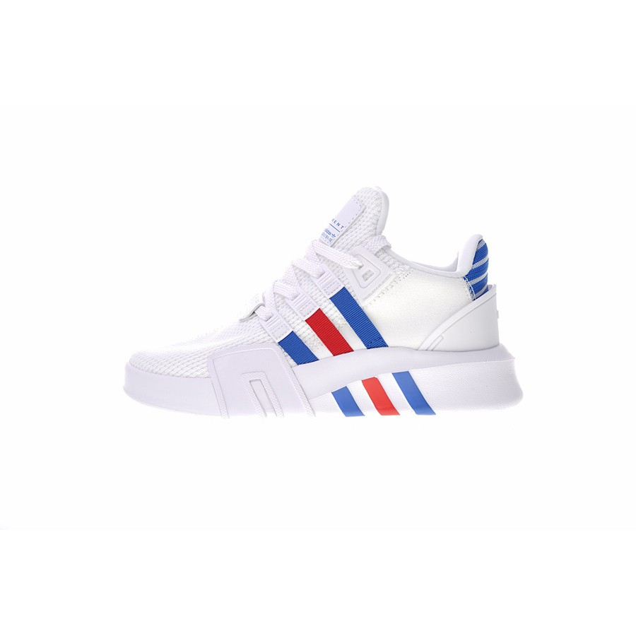 size 40 30064 64116 Adidas eqt bask adv men's/women's casual sneakers white/blue/red