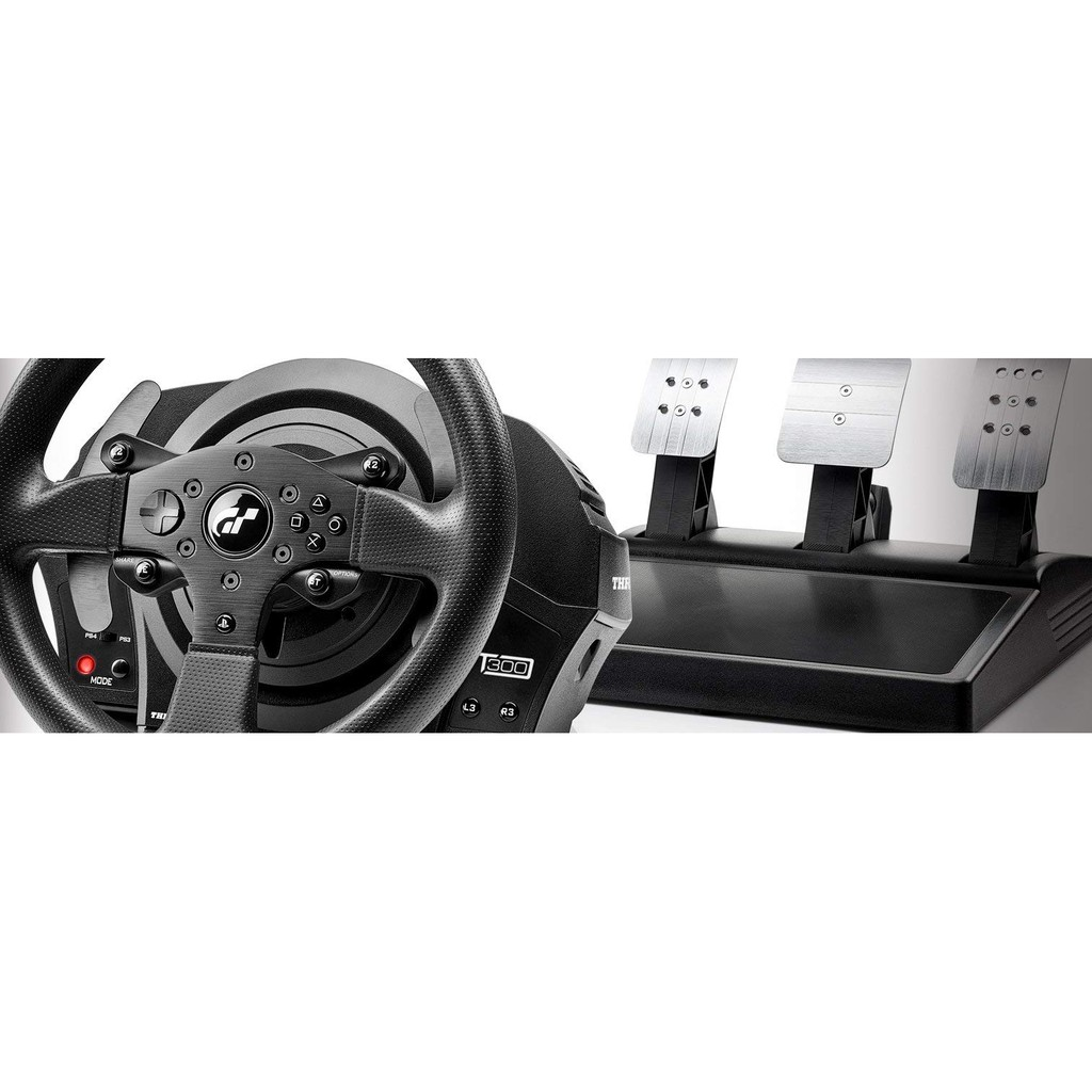 (Ready Stock) Thrustmaster T300 RS GT Edition Racing Wheel for PS4 and PC