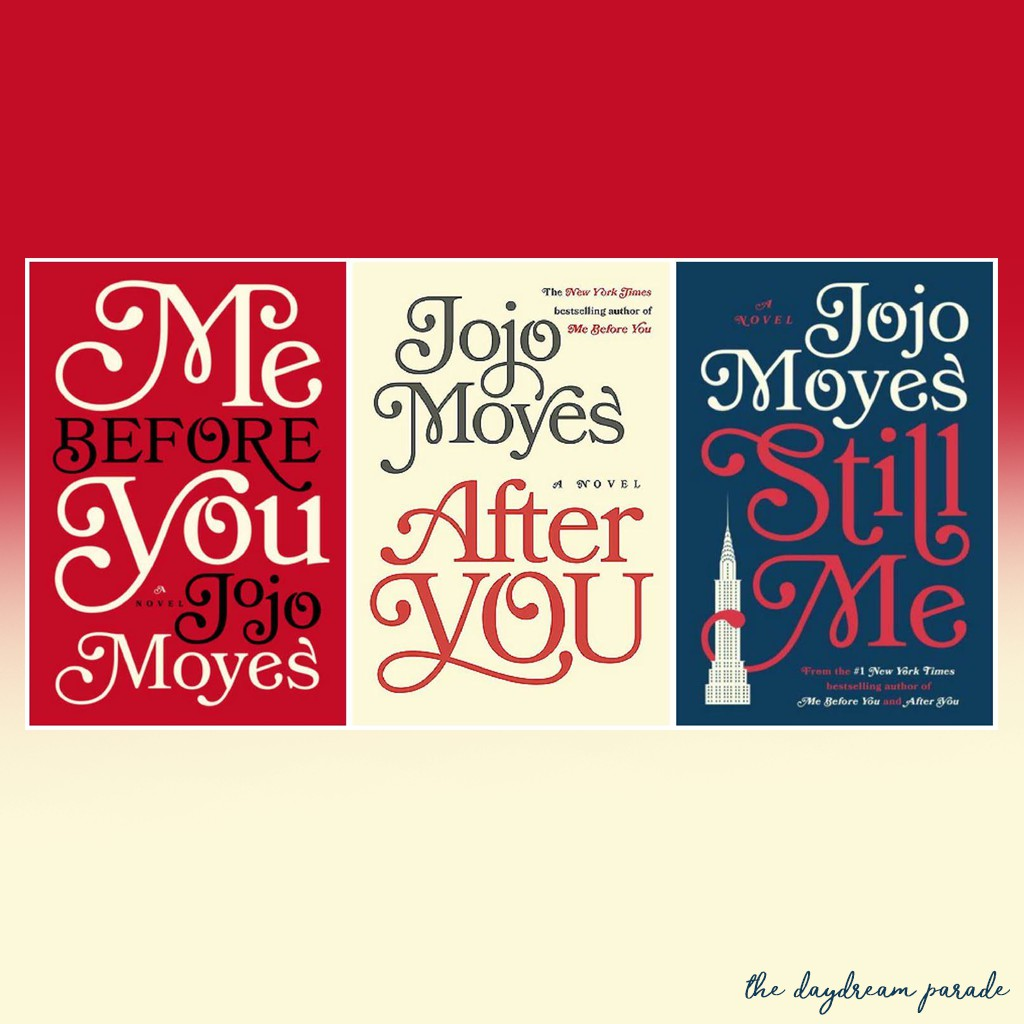 Ebook (EPUB): Me Before You TRILOGY by Jojo Moyes (3 ebooks)