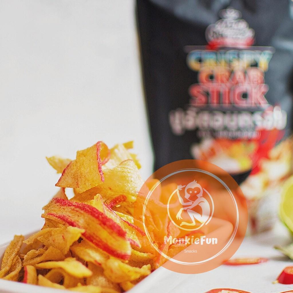 Thai Snack Max Oceans Crunchy Crab Sticks 30g Snack