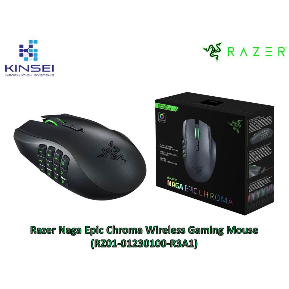 b85c1a5a13a Razer Naga Epic Chroma Wireless Gaming Mouse (RZ01-01230100-R3A1) | Shopee  Malaysia