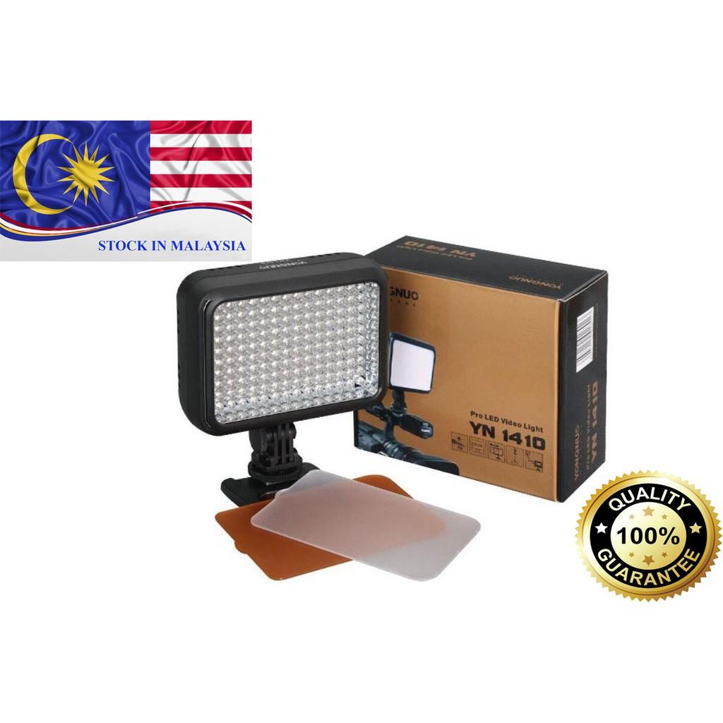 YONGNUO YN1410 Pro 140 LED Video Light Photo Lighting for DSLR Camera (Ready Stock In Malaysia)