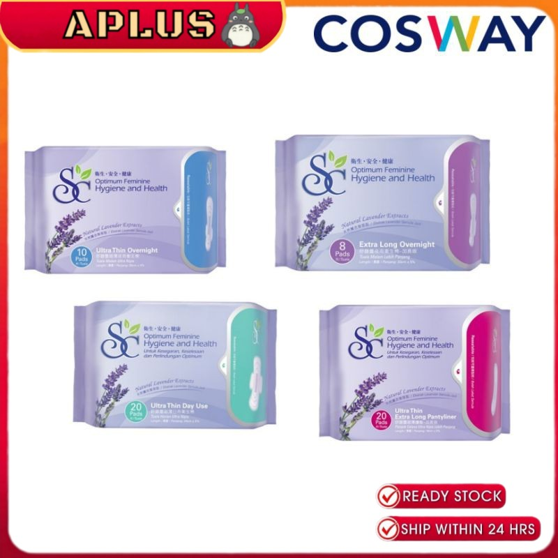 Cosway SC Sanitary Pads - Lavender (Comfortable pads)