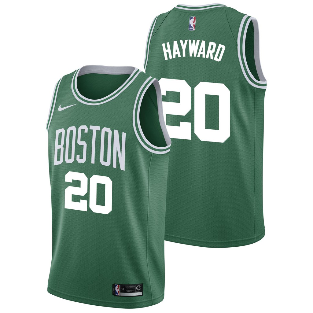 the best attitude e9b2a fa28c Nike Grey For Male Gordon Hayward Jersey Basketball Jerseys Nba Boston  Celtics Number 20 Official Authentic