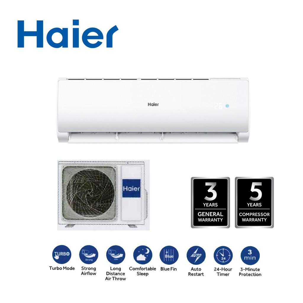 Haier HSU-12LTA18 1.5HP Turbo Cool Non Inverter