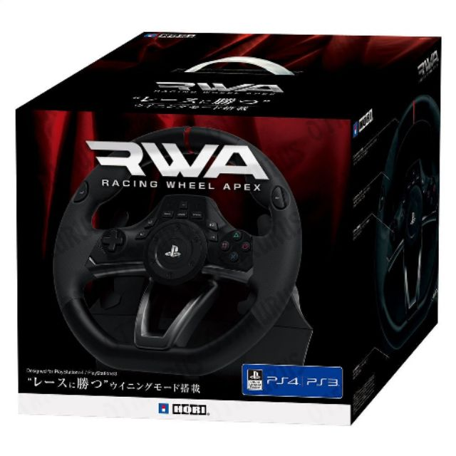 PS4 HORI RACING WHEEL APEX